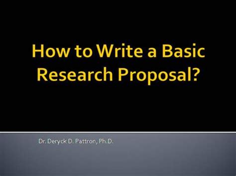 How to get a well-written research proposal without stress
